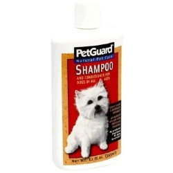 Pet guard shampoo and conditioner for dogs - 12 oz
