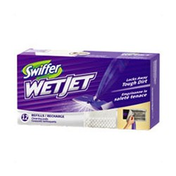 Swiffer WetJet Absorbent Triple Layer Cleaning Pad Refills - 12 ea