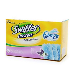 Swiffer Dusters Refills with Febreze Lavender Vanilla and Comfort Scent - 10 Count