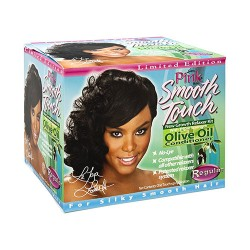 Lusters pink regular smooth touch new growth no-lye relaxer system regular - 3 ea