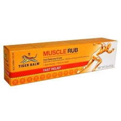 Tiger balm muscle rub topical analgesic cream - 2 oz