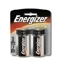 Energizer Alkaline Batteries, Size: D - 2 Each X 12 Packs