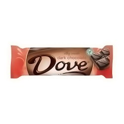 Dove Silky Smooth Milk Chocolate - 1.44 oz, 18 pack