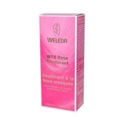 Weleda deodorant wild rose - 3.4 oz