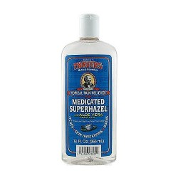 Thayers Medicated Super hazel Topical Pain Reliever, Aloe Vera - 12 oz