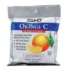 Zand Orange C herbalozenge with vitamin c - 15 ea, 12 pack