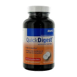 Zand Quickdigest with plant enzymes, Chewable tablets - 90 ea