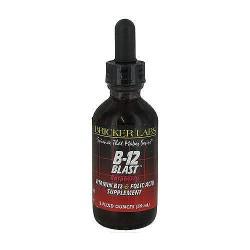 Bricker labs b-12 blast, raspberry - 2 oz