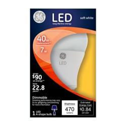 GE LED Soft White 60 watt light bulb - 1 ea