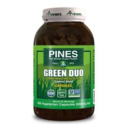Pines Non Gmo Green Duo 600 Mg Superior Blend Veg Capsules - 260 Ea