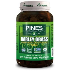 Pines International barley grass 500 mg tablets - 250 ea