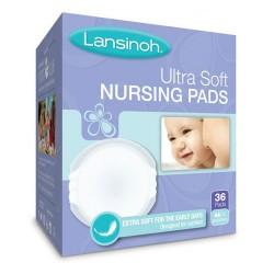 Lansinoh ultra soft nursing pads - 36 ea
