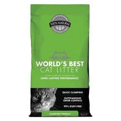 Worlds Best Cat Litter worlds best cat litter clumping formula - 7 pound, 5 ea