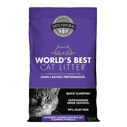 Worlds Best Cat Litter worlds best cat litter multiple cat formula - 14 pound, 3 ea