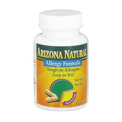 Arizona Natural Allergy Formula Capsules - 20 ea