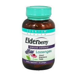 Quantum Health Elderberry Immune Defense Lozenges - 36 Lozenges