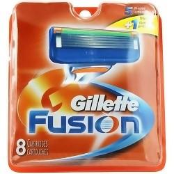 Gillette fusion catridges for the manual razor - 8 Each