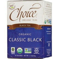 Choice organic classic black tea - 16 ea, 6 pack