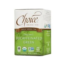 Choice organic teas decaffeinated green tea  -   16 Bags   ,6 pack