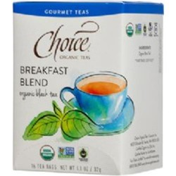 Choice organic teas breakfast blend - 16 ea