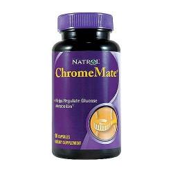 Natrol Chromemate chromium 200 mcg capsules - 90 ea