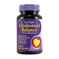 Natrol cholesterol balance beta sitosterol tablets - 60 ea
