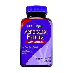 Natrol Menopause formula hormone free capsules - 60 ea