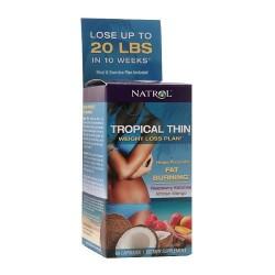 Natrol tropical thin weight loss plan- 60 ea