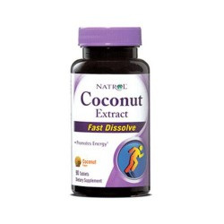 Natrol coconut extract fast dissolve tablets  -  90 Ea