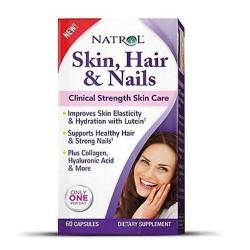 Natrol skin hair and nails tablets - 60 ea