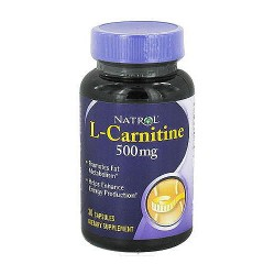 Natrol L-Carnitine, 500mg Weight Management Capsules - 30 ea