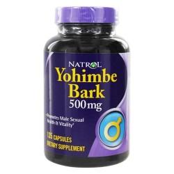 Natrol yohimbe bark 500 mg. - 135 Capsules