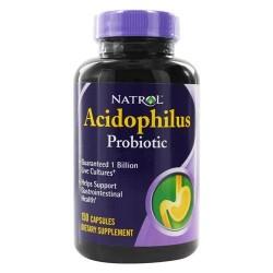 Natrol acidophilus probiotic 100 mg. - 150 Capsules