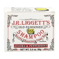 J.R.liggetts old fashioned bar shampoo, jojoba and peppermint - 3.5 oz