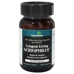 Futurebiotics Longest Living Acidophilus capsules - 100 ea