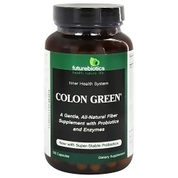 Futurebiotics colon green capsules with probiotics and enzymes - 150 ea