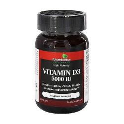 Futurebiotics High Potency Vitamin D3 5000 IU - 90 Softgels