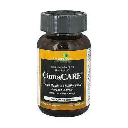 Futurebiotics cinnacare with cinnulin PF and GlucActive, 60 capsules