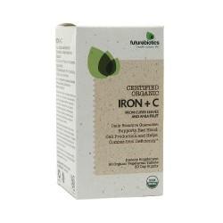 Futurebiotics certified organic vegetarian capsules, iron plus - 90 ea