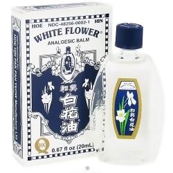Superior Trading White Flower Analgesic Balm Oil - 0.67 oz