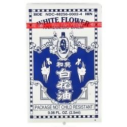 Superior Trading White Flower Analgesic Balm Oil - 0.08 oz