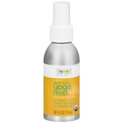 Aura Cacia Yoga Room Body And Mat Mist Motivating Sweet Orange And Peppermint - 4 oz