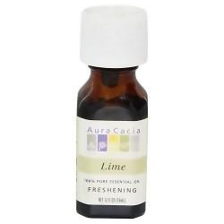 Aura Cacia 100% Pure Aromatherapy Essential Oil, Lime - 0.5 oz