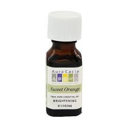 Aura Cacia pure essential oil brightening orange sweet (citrus sinensis) - 0.5 oz