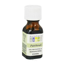 Aura Cacia 100% pure essential oil sensualizing Patchouli (pogostemon cabin) - 0.5 oz