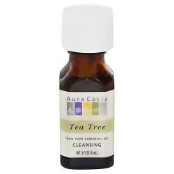 Aura Cacia Pure Essential Oil Cleansing Tea Tree - 0.5 oz