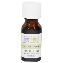 Aura Cacia Essential Carrot Seed Oil - 0.5 oz