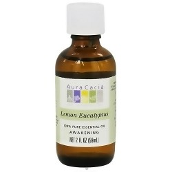 Aura Cacia pure essential oil awakening lemon eucalyptus - 2 Oz