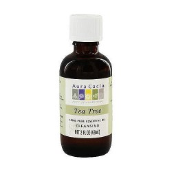 Aura Cacia 100% Pure Tea Tree Essential Oil - 2 oz