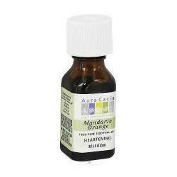 Aura Cacia pure essential oil heartening, Mandarin Orange - 0.5 oz